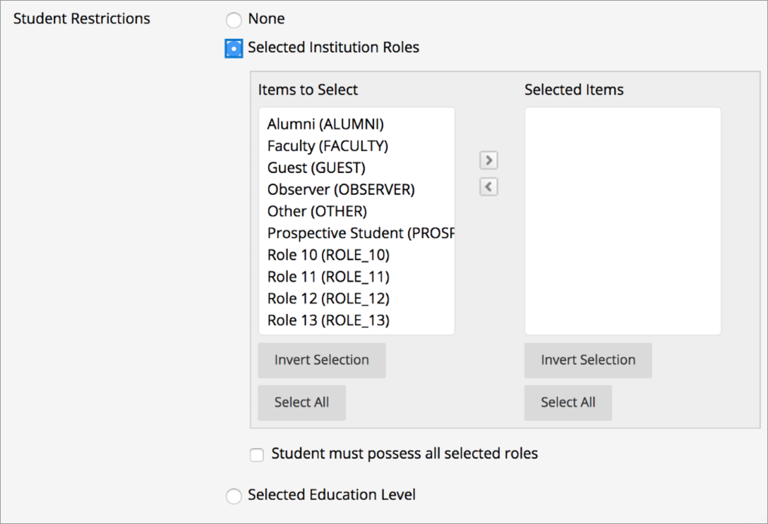 Select Quote Senior Release Notes For Learn Self And Managedhosting  Blackboard Help