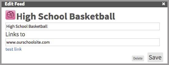Image illustrating the sports URL