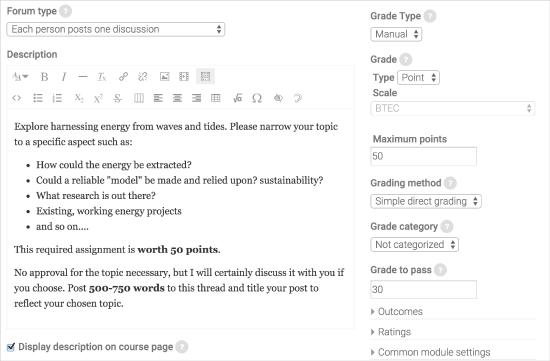 Open Forums | Blackboard Help