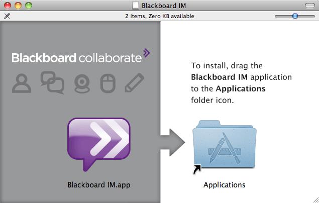 Mac installer disk image