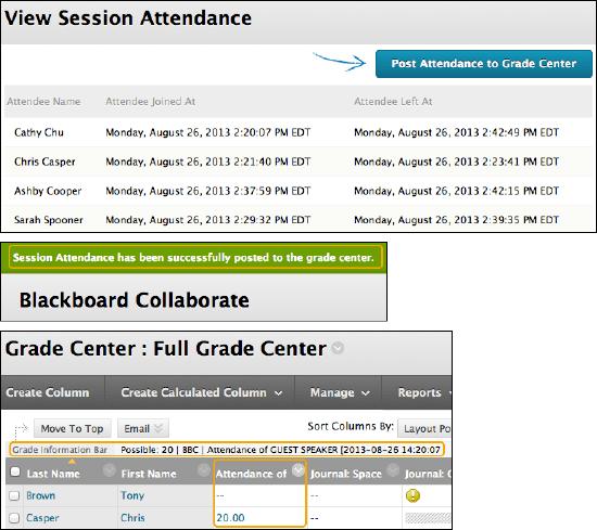 Blackboard Collaborate Sessions | Blackboard Help