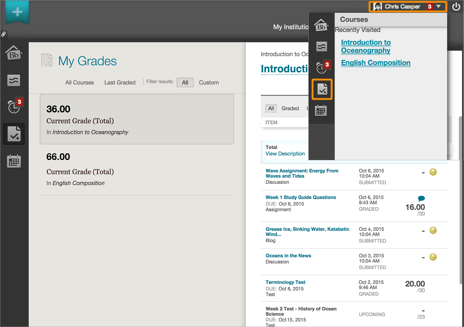coursework blackboard The blackboard app is the current name for the student-centered  it easier and  more efficient for students to complete online coursework.
