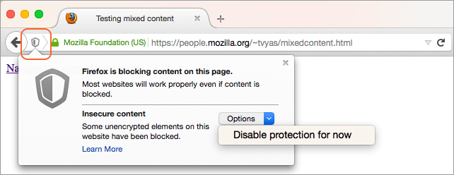 Browser Security and Mixed Content | Blackboard Help