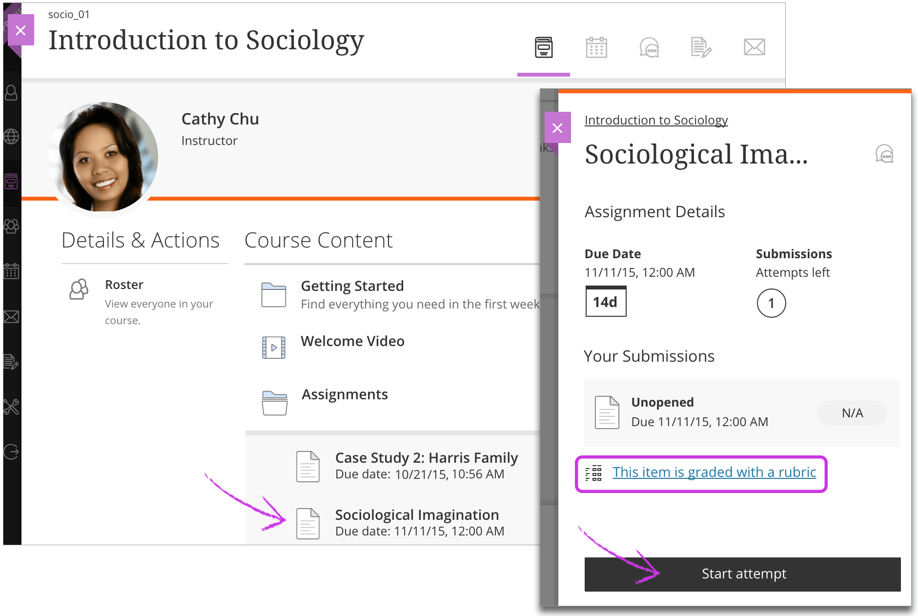 submit assignments blackboard help jump to the original help about accessing assignments