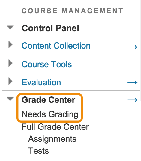 blackboard grade assignment page When you're ready to grade a voicethread assignment, simply return to your course and click on the voicethread link again this will display the grader click on a student's name on the right to see that student's submission.