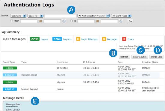 Authentication Logs | Blackboard Help