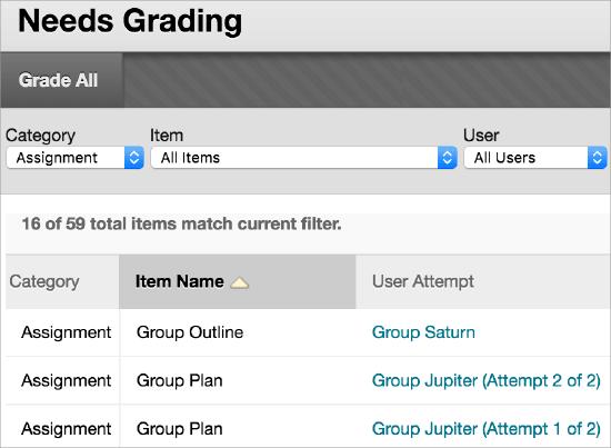 Assignments | Blackboard at KU