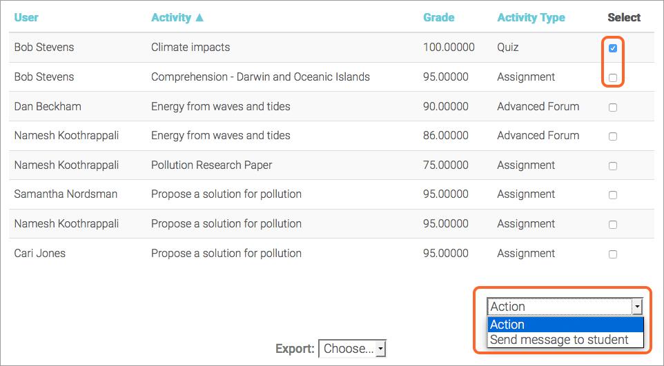 Open Reports | Blackboard Help