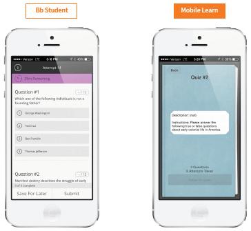 Mobile Learning (mlearning) Solutions | Blackboard