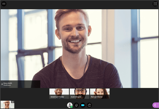 Find help for Blackboard's real-time video conferencing tool, which opens right in your browser, so you don't have to install any software to join a session.