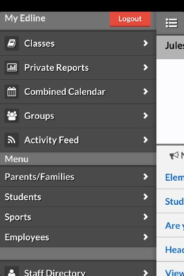 Edline Mobile View - Blackboard Help