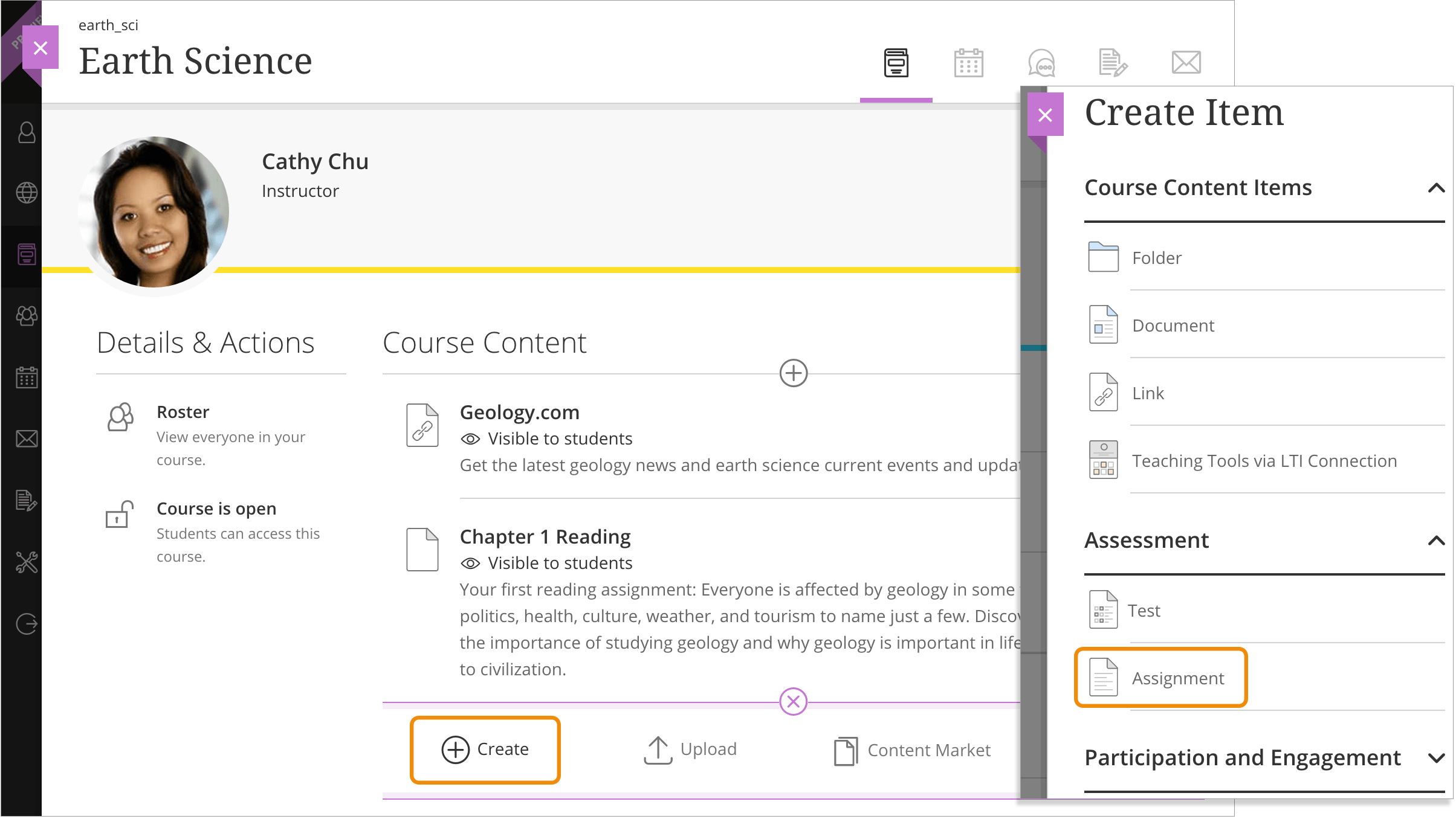 create and edit assignments blackboard help you can create assignments alongside other content students can access their work next to the content they need right when they need it