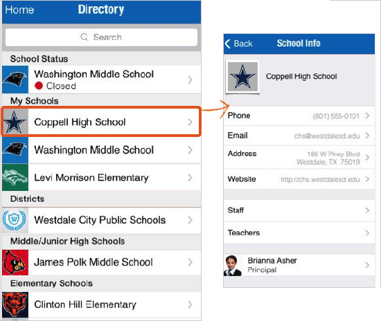 District and School Directory | Blackboard Help