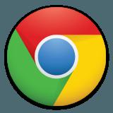 Google Chromeのロゴ