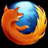 Mozilla Firefoxブラウザのロゴ