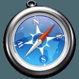 Apple Safariのロゴ