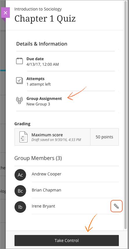 Blackboard homework help