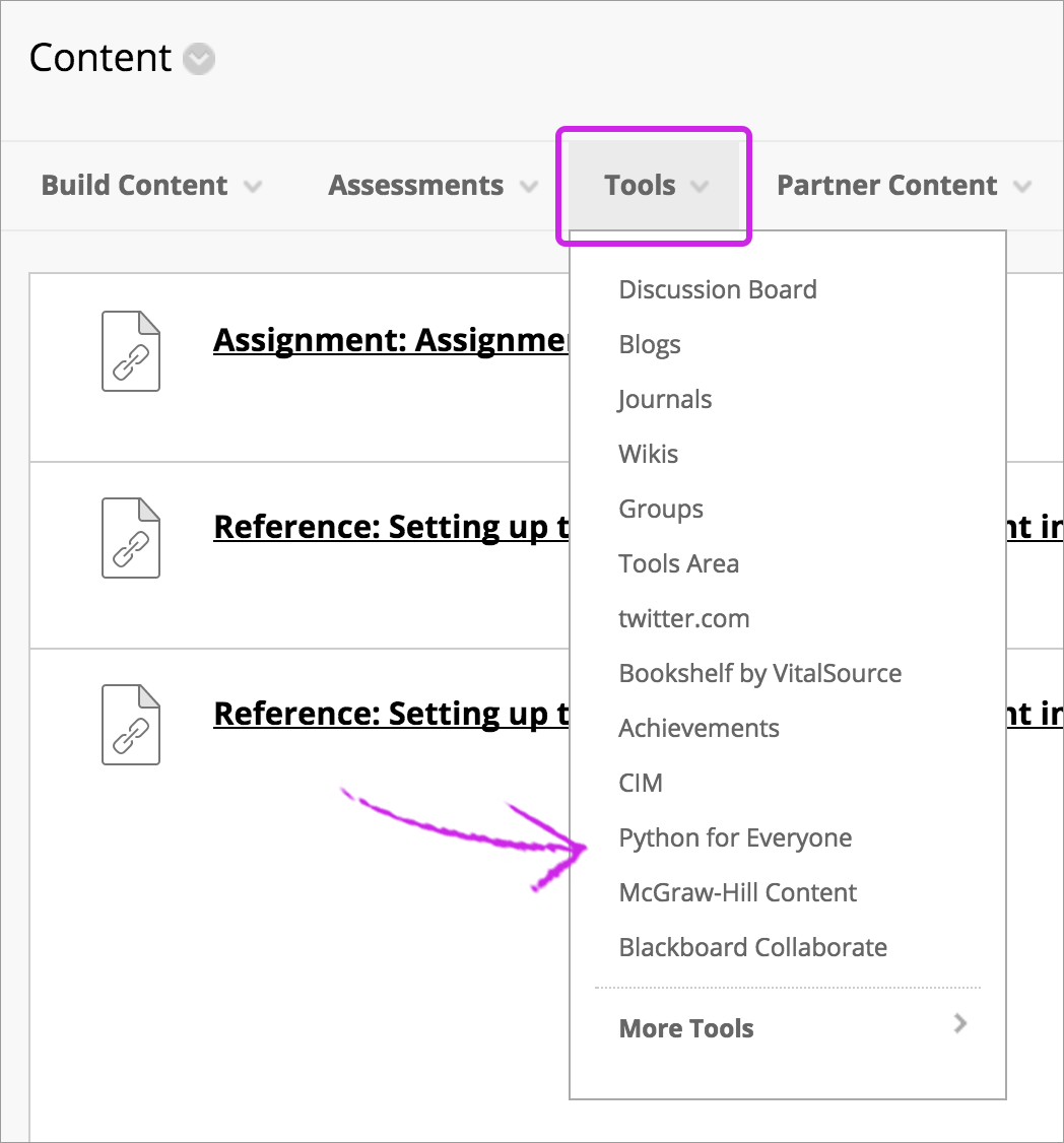 Add Content from External Sources | Blackboard Help