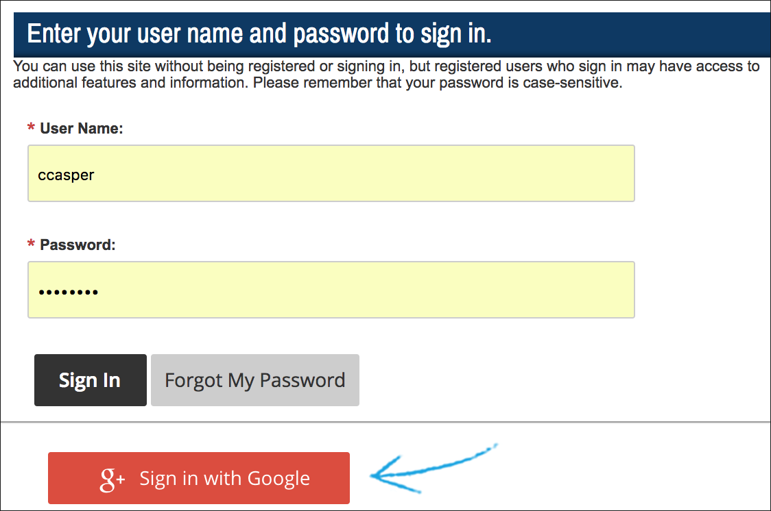 Register and sign in blackboard help Google sites sign in