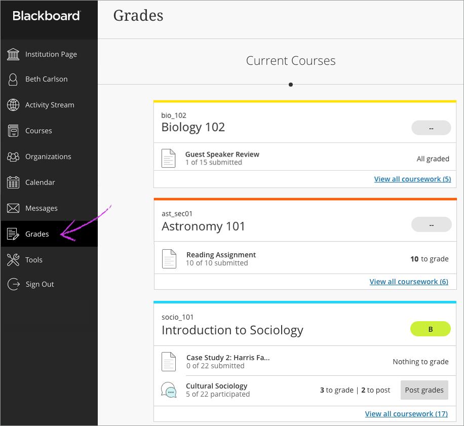 Blackboard Learn | Learning Management System