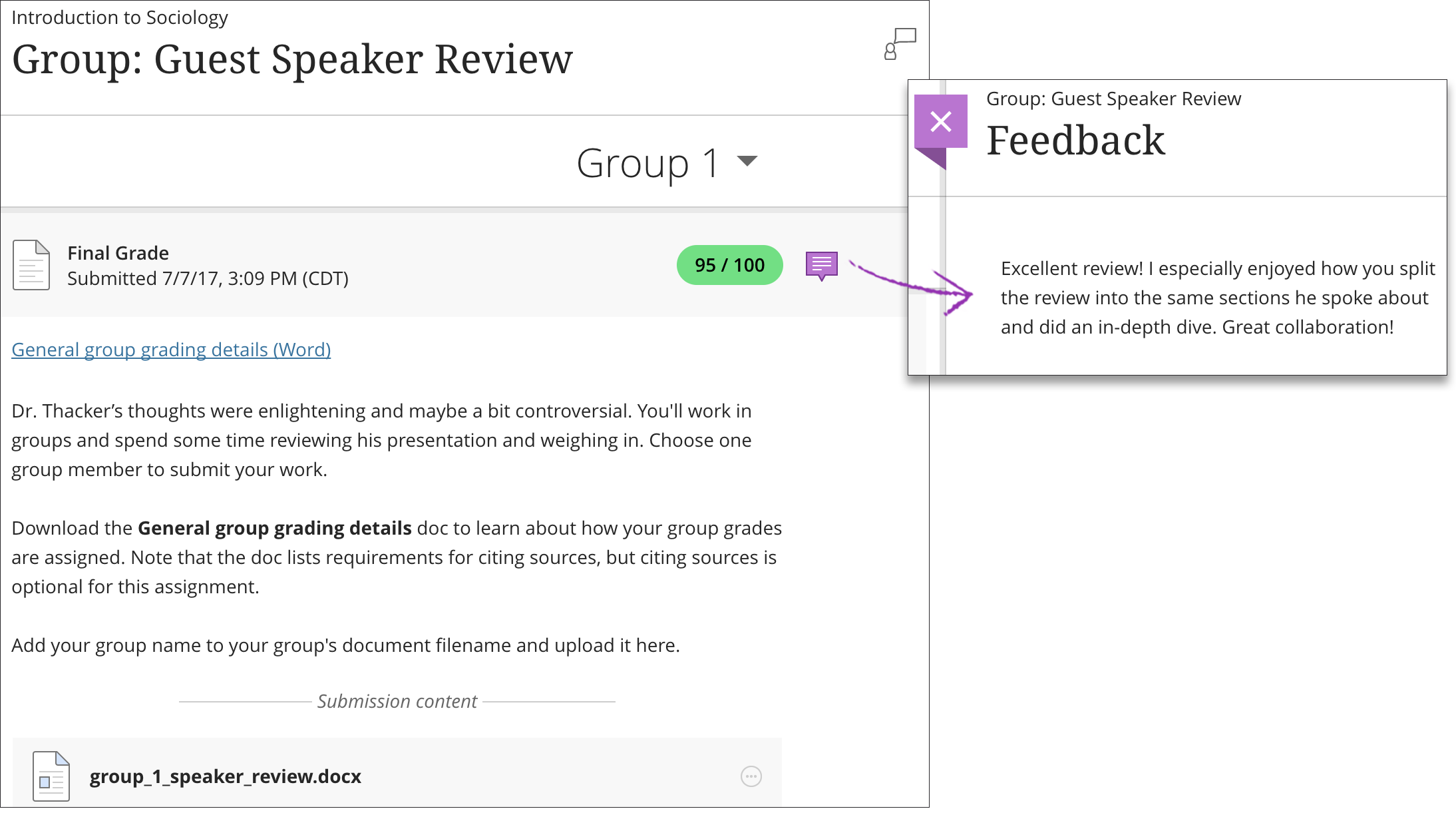 Group Assignments in Blackboard Learn with the Ultra ...