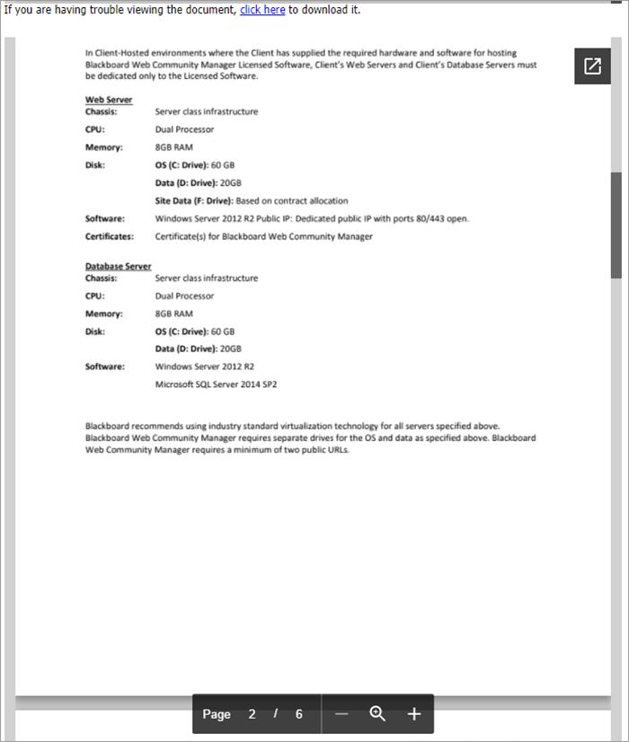 Document Viewer App | Blackboard Help
