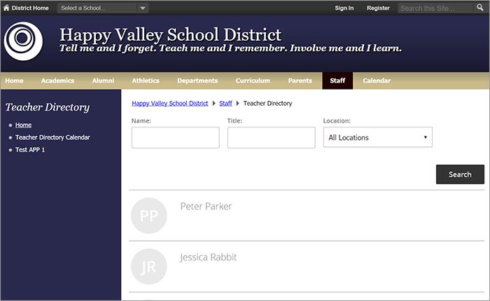 membership directory app