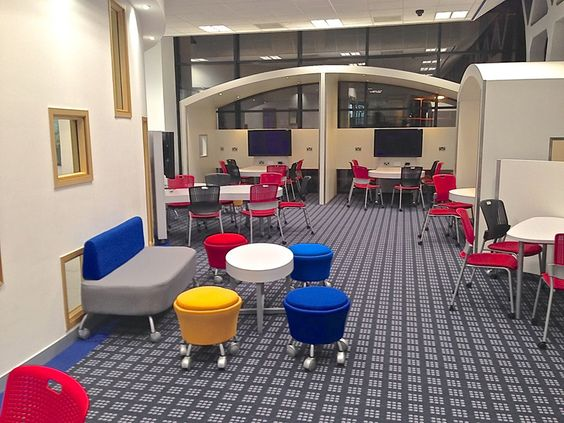 "Learning space at Derby's ""The Learning Curve"""