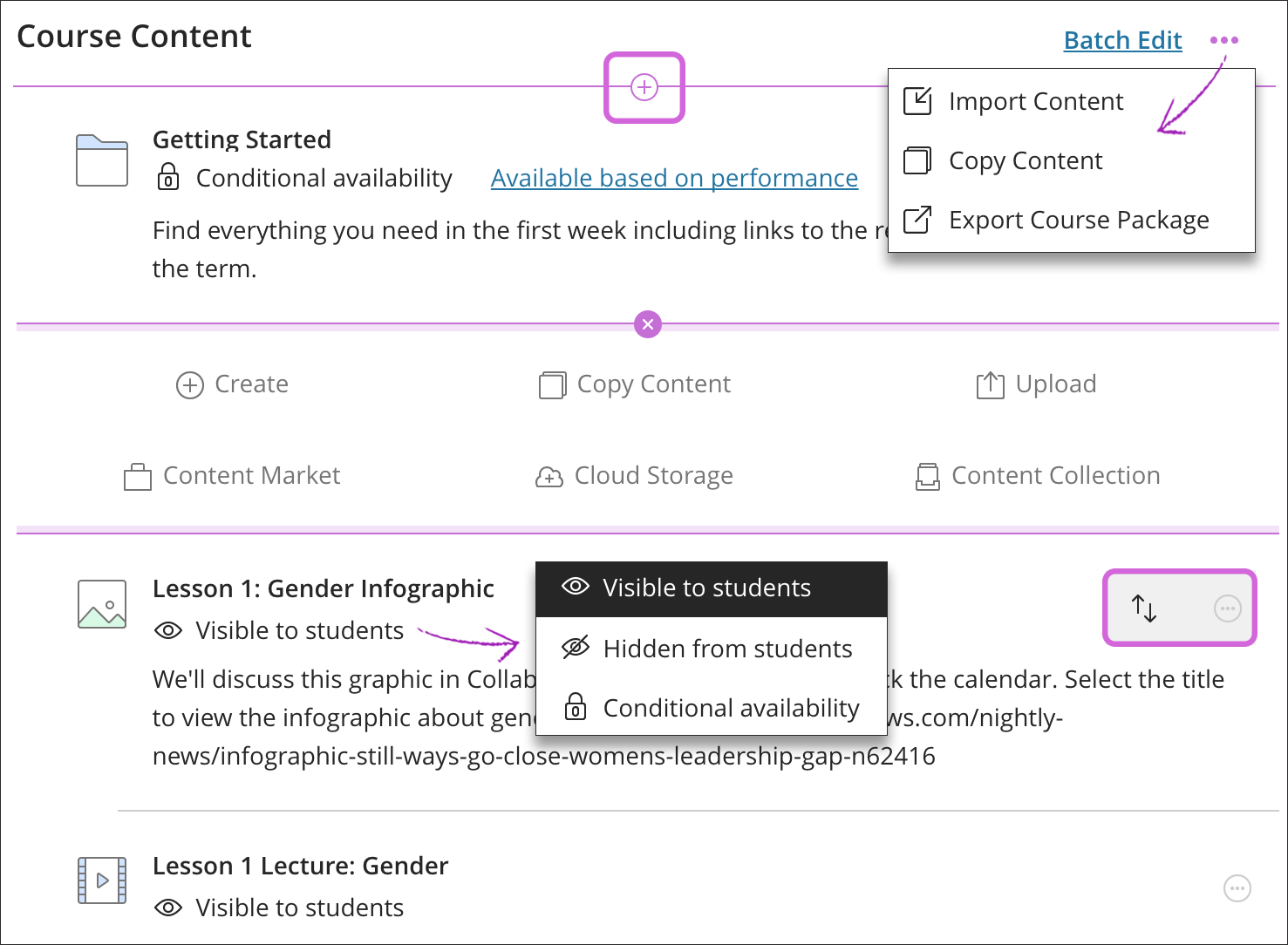 How to Create Course Content for a MILPA Course