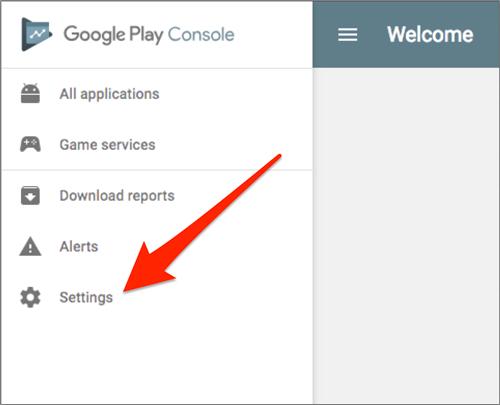 Play console google