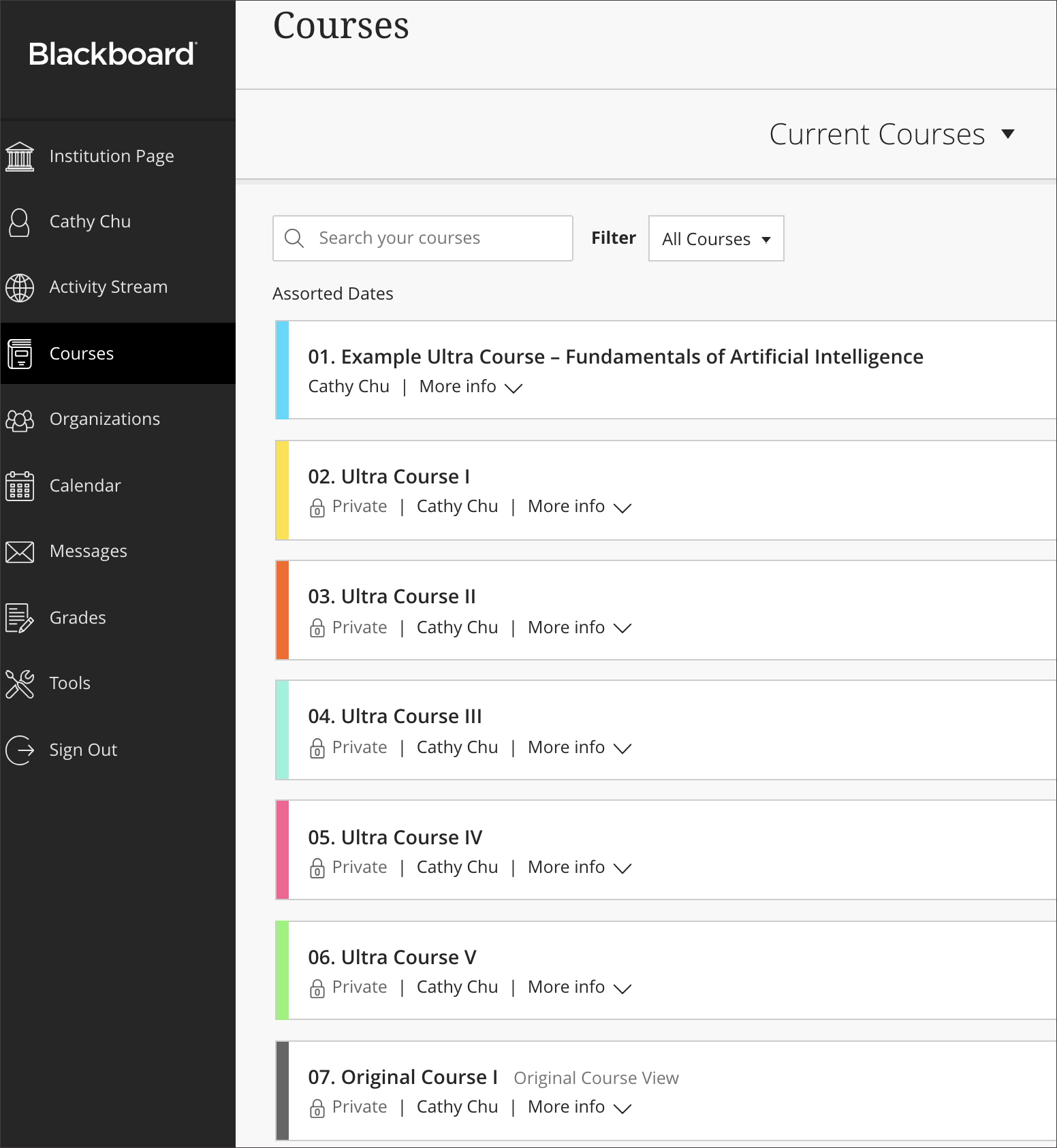 coursesites by blackboard is a free learning management system