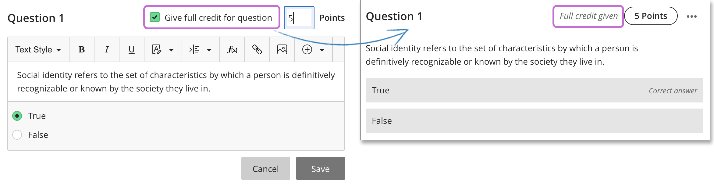 Edit Tests and Questions | Blackboard Help