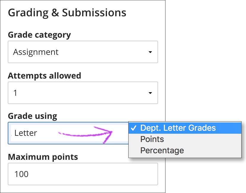 Grade Number To Letter.Grading Schemas Blackboard Help