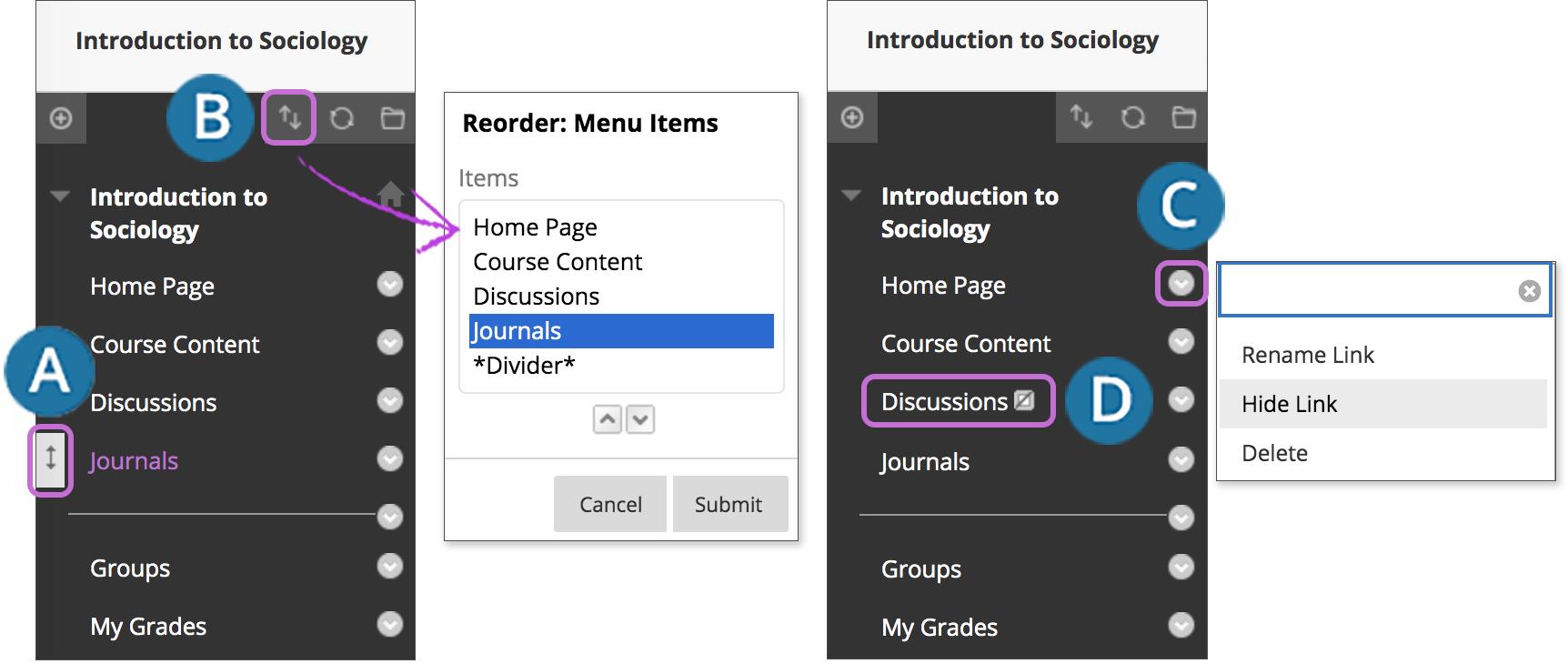 Navigate Inside a Course | Blackboard Help